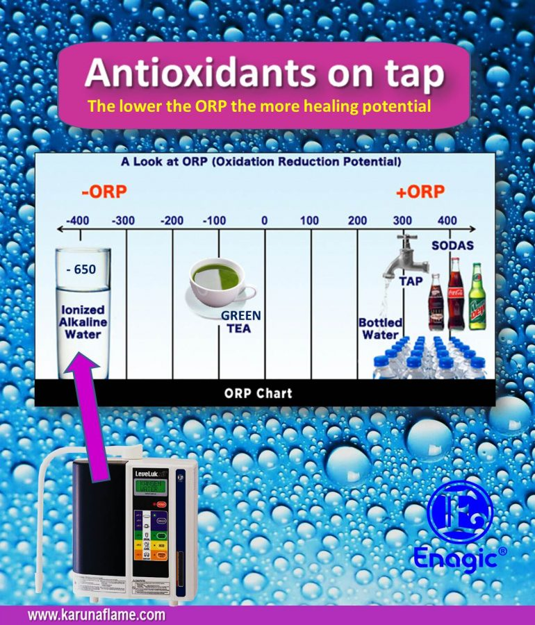 Kangen Water Antioxidant Water On Tap Karuna Flame